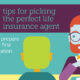 5 Tips for your first meeting with a potential life insurance agent or advisor