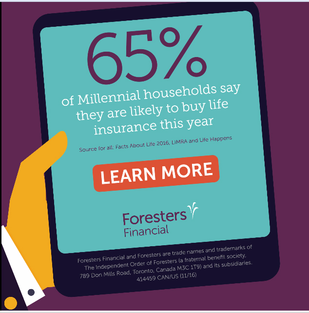 65% of Millennial households say they are likely ot buy life insurance this year
