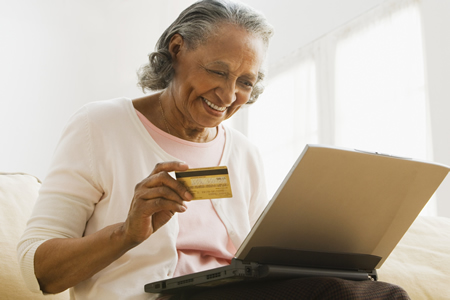 Online security credit card safety