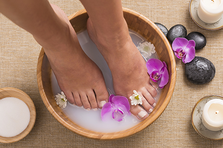 foot care,